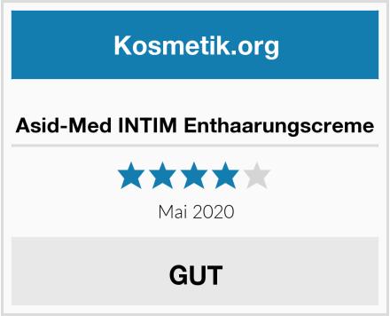 Asid-Med INTIM Enthaarungscreme Test