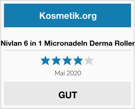 Nivlan 6 in 1 Micronadeln Derma Roller Test