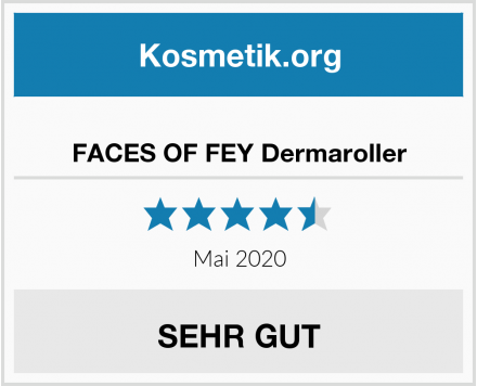 FACES OF FEY Dermaroller Test