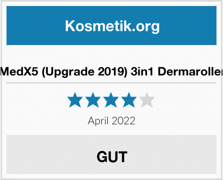 MedX5 (Upgrade 2019) 3in1 Dermaroller Test