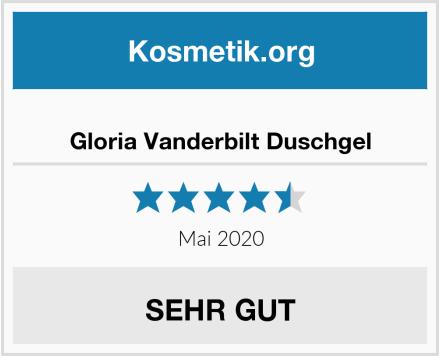 Gloria Vanderbilt Duschgel Test