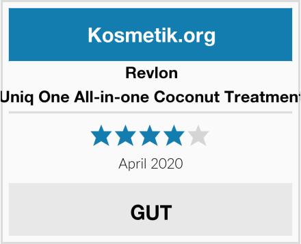 Revlon Uniq One All-in-one Coconut Treatment Test
