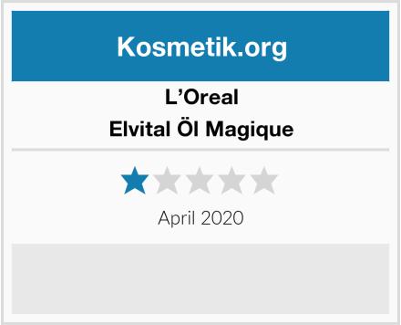 L'Oreal Elvital Öl Magique Test