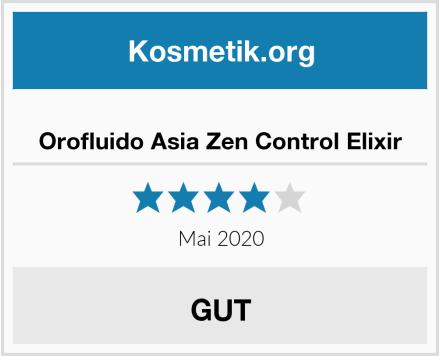 Orofluido Asia Zen Control Elixir Test