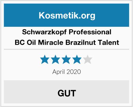 Schwarzkopf Professional BC Oil Miracle Brazilnut Talent Test