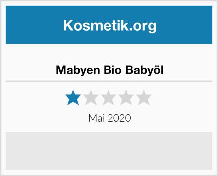 Mabyen Bio Babyöl Test