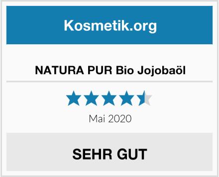 NATURA PUR Bio Jojobaöl Test
