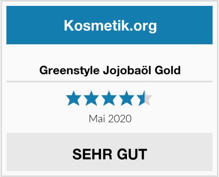 Greenstyle Jojobaöl Gold Test