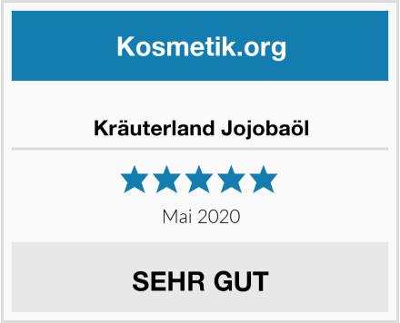 Kräuterland Jojobaöl Test