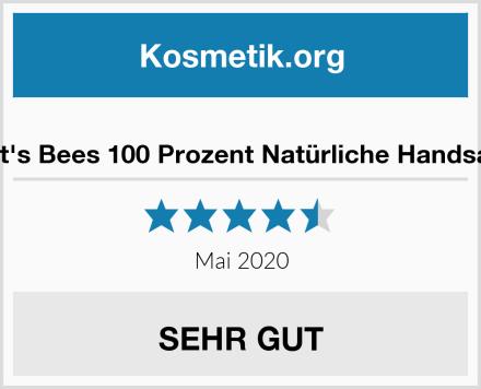 Burt's Bees 100 Prozent Natürliche Handsalbe Test