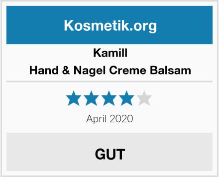 Kamill Hand & Nagel Creme Balsam Test