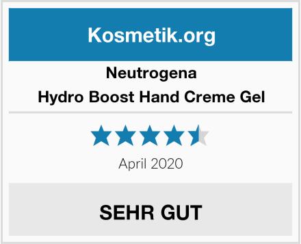 Neutrogena Hydro Boost Hand Creme Gel Test