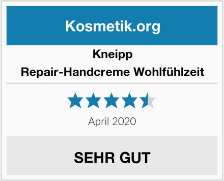 Kneipp Repair-Handcreme Wohlfühlzeit Test