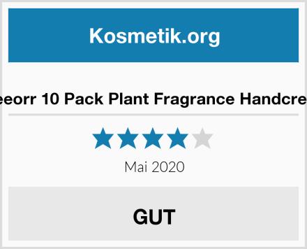 Freeorr 10 Pack Plant Fragrance Handcreme Test