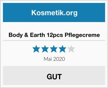Body & Earth 12pcs Pflegecreme Test