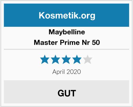 Maybelline Master Prime Nr 50 Test