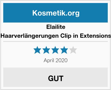 Elailite Haarverlängerungen Clip in Extensions Test