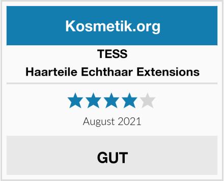 TESS Haarteile Echthaar Extensions Test