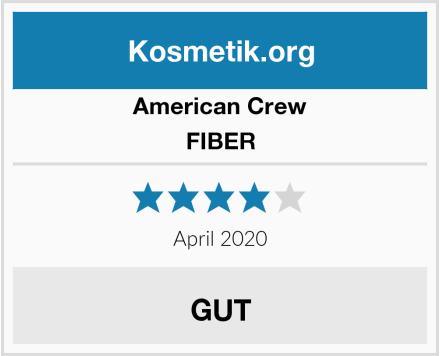 AMERICAN CREW FIBER Test