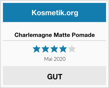 Charlemagne Matte Pomade Test