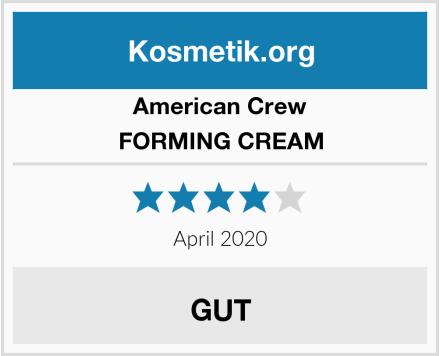 AMERICAN CREW FORMING CREAM Test
