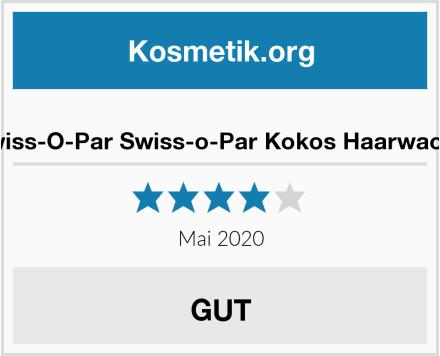 Swiss-O-Par Swiss-o-Par Kokos Haarwachs Test