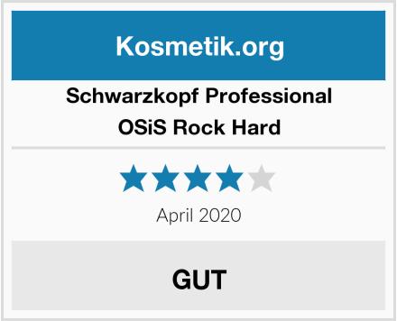 Schwarzkopf Professional OSiS Rock Hard Test