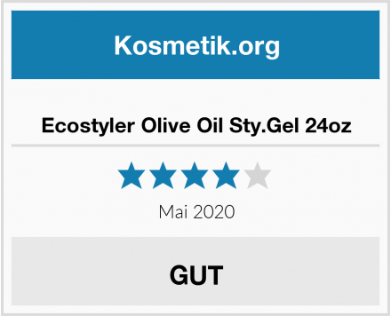 Ecostyler Olive Oil Sty.Gel 24oz Test