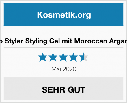 Eco Styler Styling Gel mit Moroccan Argan Öl Test