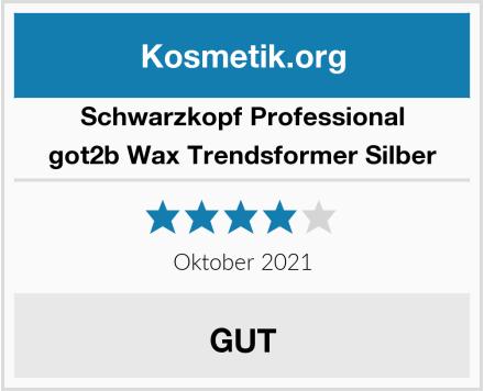Schwarzkopf Professional got2b Wax Trendsformer Silber Test