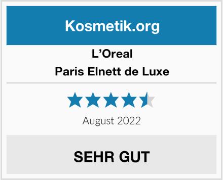 L'Oreal Paris Elnett de Luxe Test