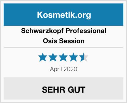 Schwarzkopf Professional Osis Session Test