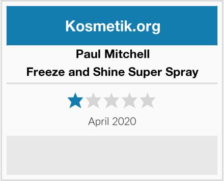 Paul Mitchell Freeze and Shine Super Spray Test