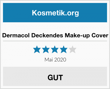 Dermacol Deckendes Make-up Cover Test