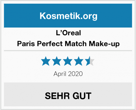 L'Oreal Paris Perfect Match Make-up Test