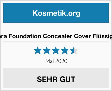 Phoera Foundation Concealer Cover Flüssigmatt Test