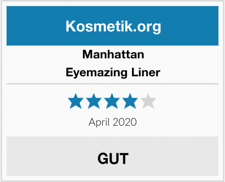 Manhattan Eyemazing Liner Test