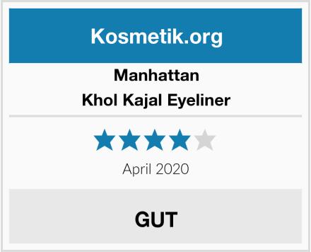 Manhattan Khol Kajal Eyeliner Test