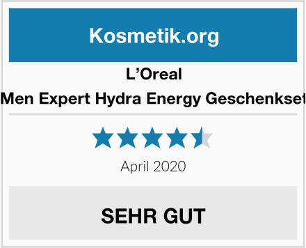 L'Oreal Men Expert Hydra Energy Geschenkset Test