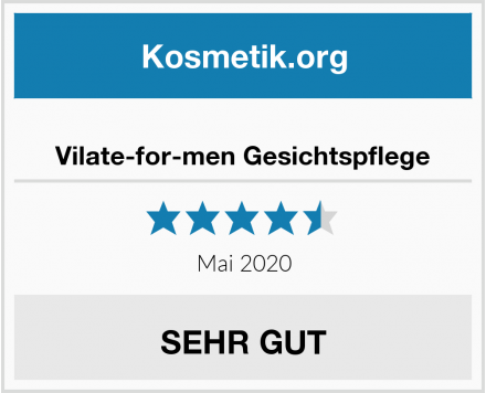 Vilate-for-men Gesichtspflege Test