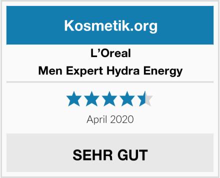 L'Oreal Men Expert Hydra Energy Test