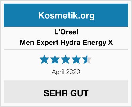 L'Oreal Men Expert Hydra Energy X Test