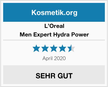 L'Oreal Men Expert Hydra Power Test