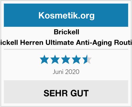 Brickell Herren Ultimate Anti-Aging Routine Test