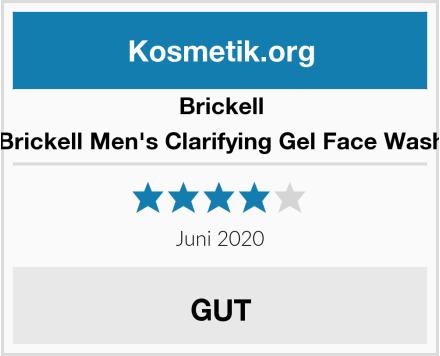 Brickell Brickell Men's Clarifying Gel Face Wash Test