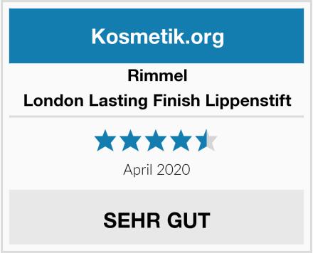 Rimmel London Lasting Finish Lippenstift Test