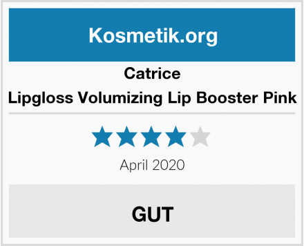 Catrice Lipgloss Volumizing Lip Booster Pink Test