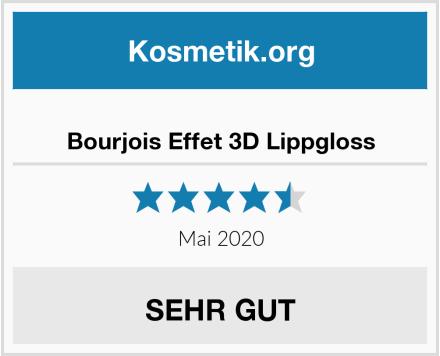 Bourjois Effet 3D Lippgloss Test