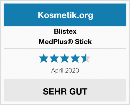 Blistex MedPlus® Stick Test