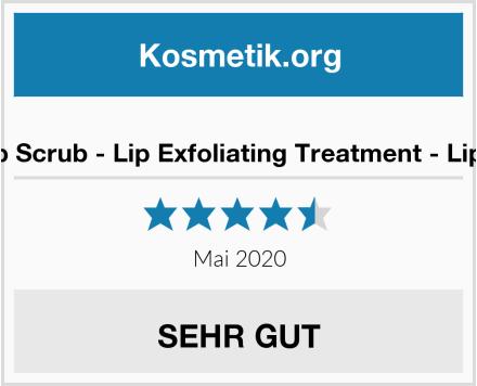Bamboo Lip Scrub - Lip Exfoliating Treatment - Lippenpeeling Test